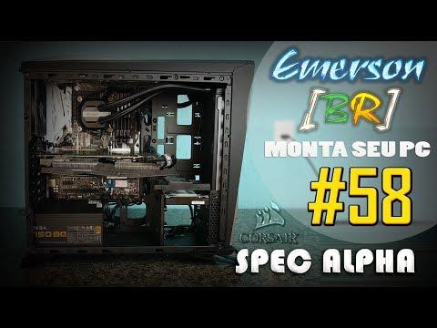 💻 EmersonBR Monta Seu PC #58 - PC do Adeildo - SPEC-ALPHA BLACK/SILVER