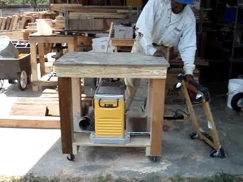dewalt planer stand. mobile planer stand for dewalt dw735 dewalt planer stand