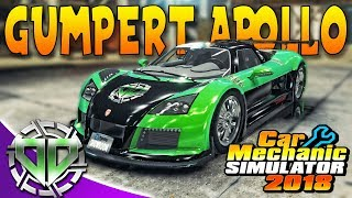 Car Mechanic Simulator 2018 : Gumpert Apollo S Restoration & New Track!  300+ KPH! (PC)