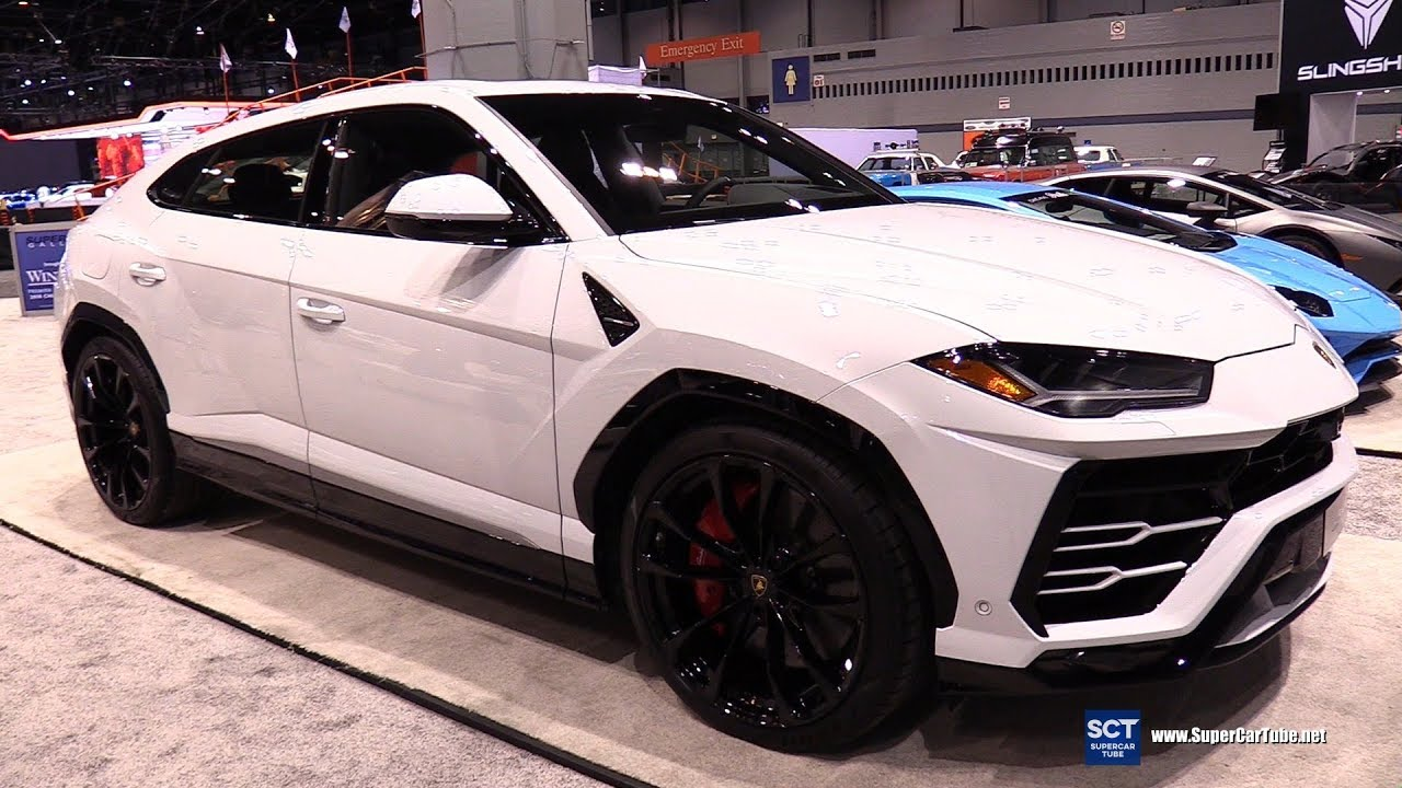 2018 Lamborghini Urus , Exterior and Interior Walkaround , 2018 Chicago  Auto Show