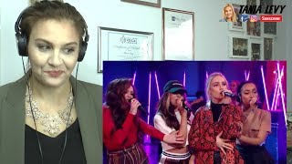 Vocal Coach |Reaction Little Mix – Think About Us (at the BRITs Are Coming)