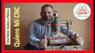 ✅ Quiero Mi CNC (Como se hace) Talla Metal, Madera, Plástico e impresos  PCB #1