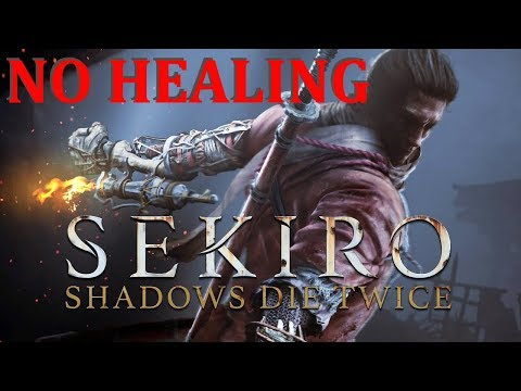 Sekiro No Healing Run (Pt. 1)
