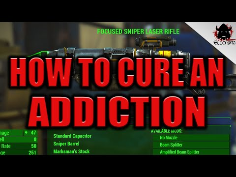 How To Cure An Addiction In Fallout 4!