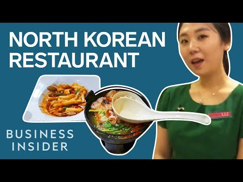 "North Korea's ""Pyongyang"" Restaurant Chain vs. Inside Look"
