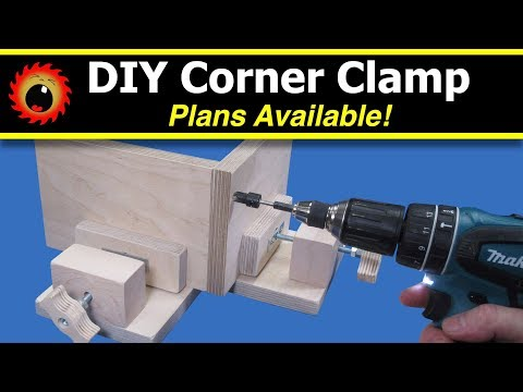 DIY Corner Clamp - Plans Available