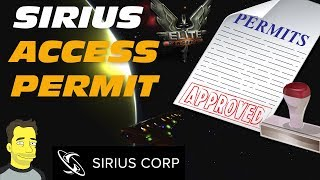 Elite: Dangerous Horizons: Getting the Sirius Permit