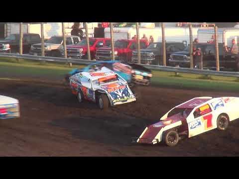 IMCA Modified Heats Benton County Speedway 8/20/17