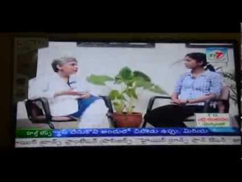 Dr.K.Satyalakshmi  TV Talk on Nature Cure- Part 1