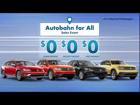 Autobahn For All Sales Event at St. Catharines VW