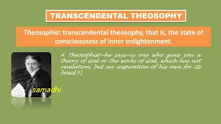 WHAT IS THEOSOPHY? P 1