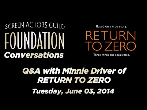 Conversations with Minnie Driver of RETURN TO ZERO