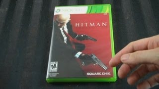 UnBoxing - Hitman Absolution (XBox 360) Standard Edition - Game Footage - Adam Koralik