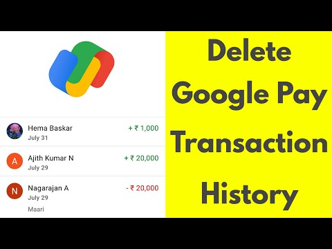 How To Delete Google Pay Transaction History||Remove All Chat From Tez App-2019