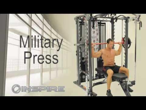 Inspire Fitness SCS Exercise Demonstration