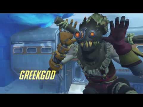 TYLER1 1V1 GREEKGODX IN OVERWATCH [VOD: 07-01-2017]