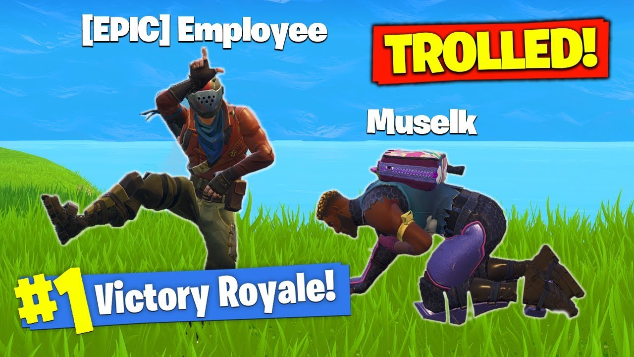 Trolled By Epic Games In Fortnite Battle Royale Youtube