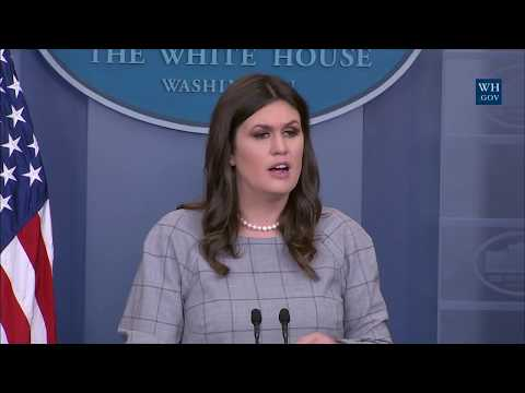 10/06/17: White House Press Briefing