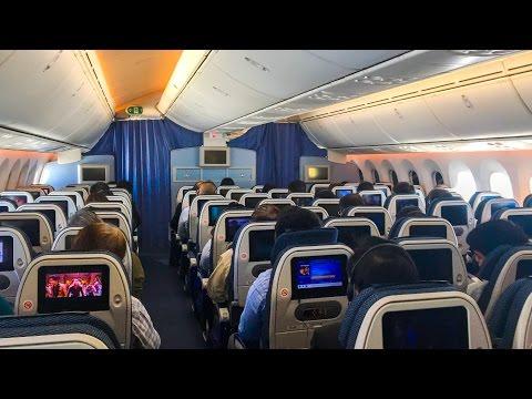 ANA Boeing 787 | Economy Class | Shanghai to Tokyo Haneda