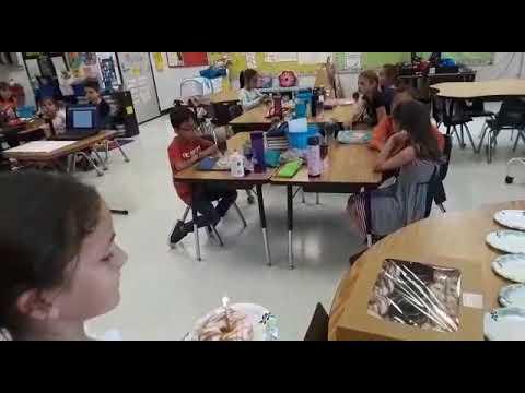 Cumpleaños de Martita en Tippin Elementary School