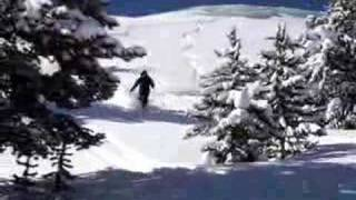 Skiing in Blue Sky Basin Vail Colorado Earls Bowl Thumbnail