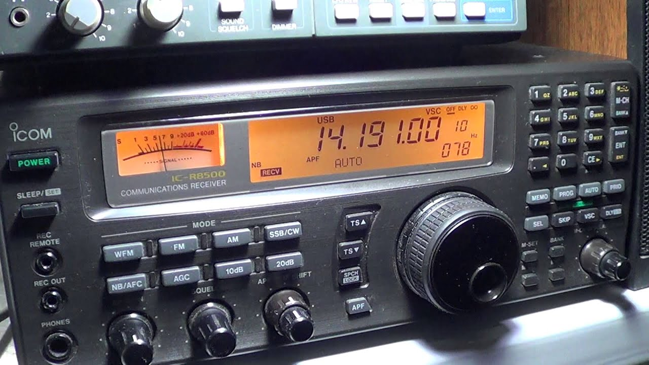 Amateur Radio Station Wb4omm: J85K Amateur Radio Station In St Vicent On Icom Ic R 8500