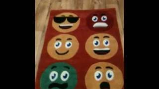 Kids rugs. Smiley's. 90cm x 120cm