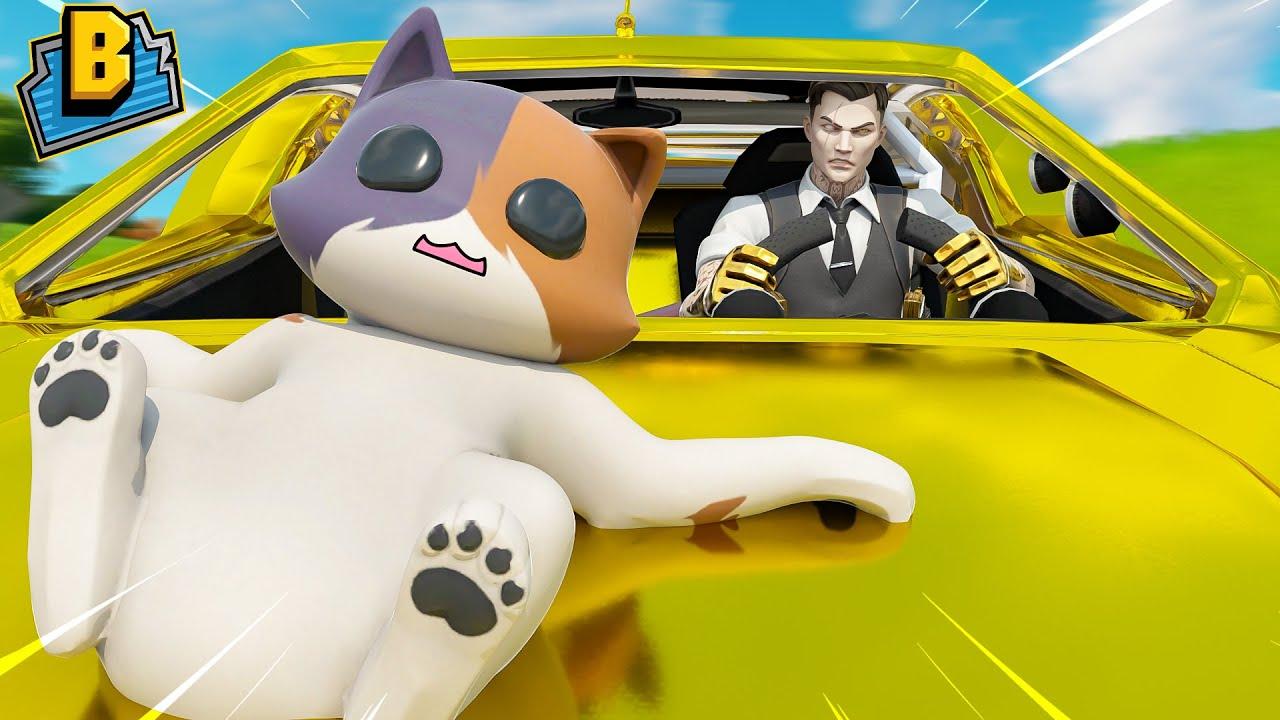 MIDAS RUNS OVER KIT WITH HIS CAR!!! Fortnite Season 3