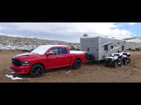 How Much Can A Ram 1500 Tow >> 2017 Ram 1500 Night Review Towing In The Rockies With Toyhauler