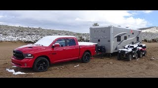 2017 Ram 1500 Night Review Towing In The Rockies With Toyhauler
