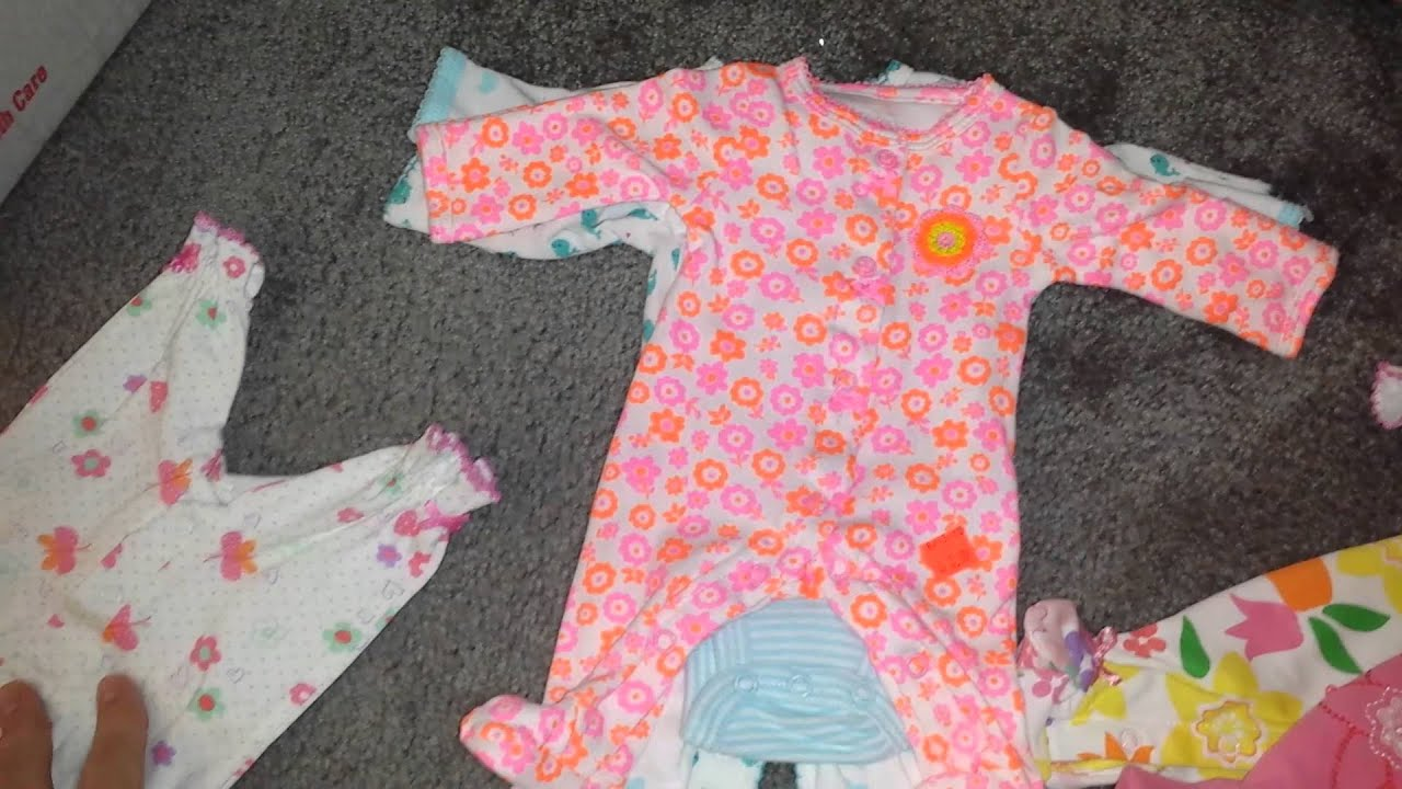 Requested natalielovesreborns1 preemie clothes from Carter