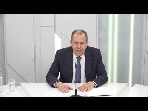 Интервью С.Лаврова медиахолдингу РБК, Москва, 15 мая 2020 года