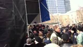 """Донецк 1 марта 2014: драка между """"регионалами"""" и """"ополченцами"""". 2"""