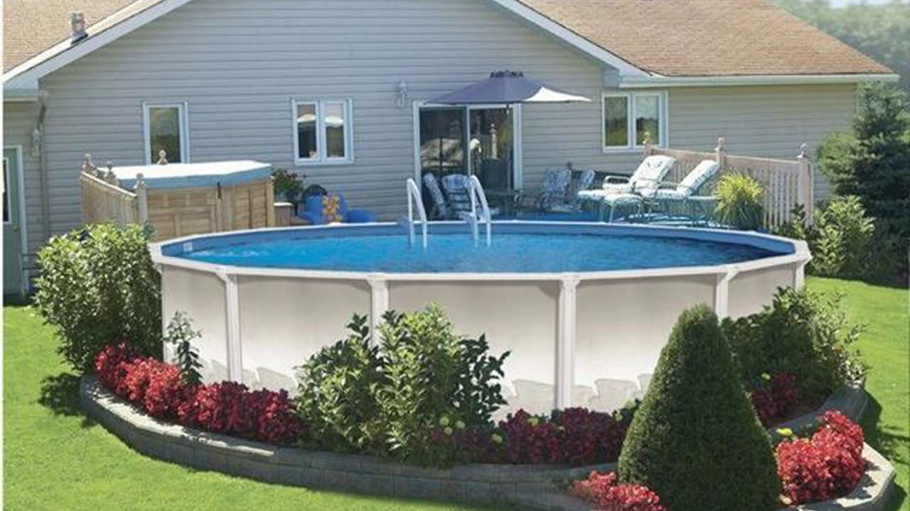 Above Ground Pool Design Ideas - YouTube