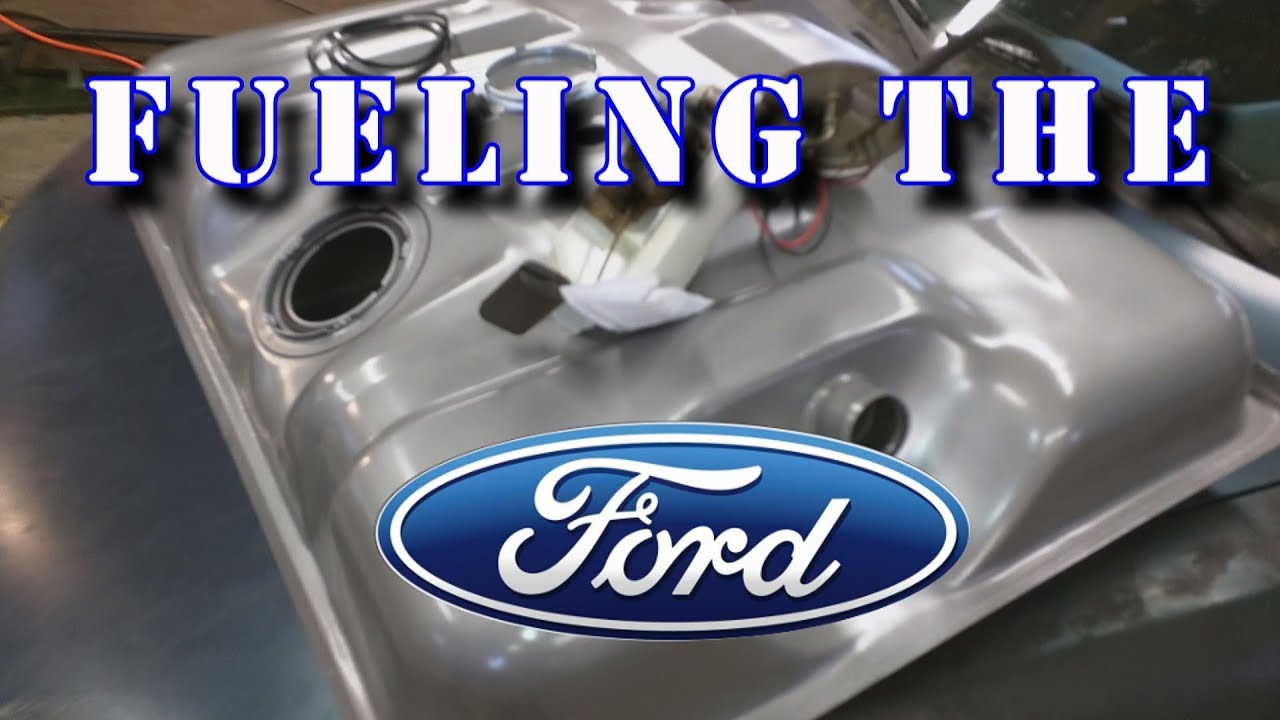1995 FORD F150 - FUEL TANK AND PUMP REPLACEMENT