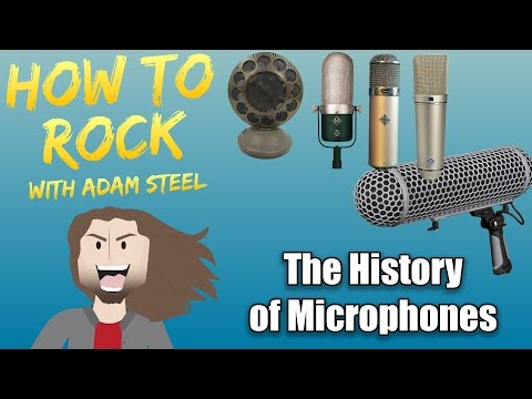 The History of Microphones - And where to use them in modern Audio Production