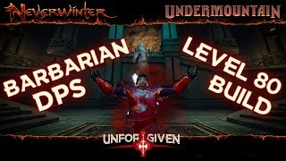 Neverwinter Mod 16 - Barbarian DPS Build for Lvl 80 Mad Mage Ready (1080p)
