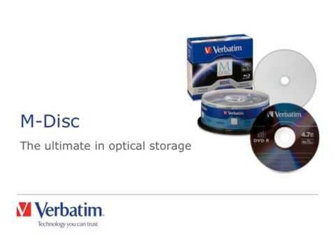 Verbatim M-Disc Presentation