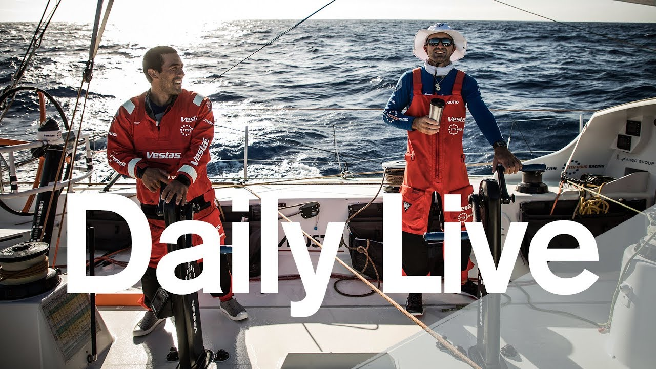 1300 UTC Daily Live – Saturday 18 November | Volvo Ocean Race