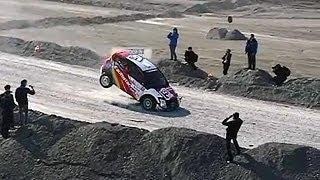 """█ Полеты на """"Альянс-Авто-2011"""".mpg. Вся группа участников в полете. (машины, соревнования)."""