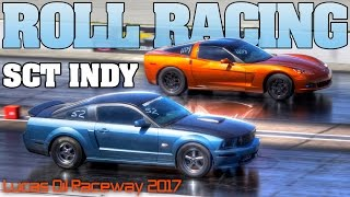 Street Car Takeover 2017 Indy Roll Racing compilation, turbo and supercharged cars