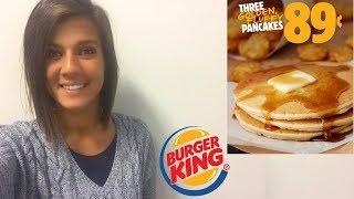 $0.89 Pancakes at Burger King!!