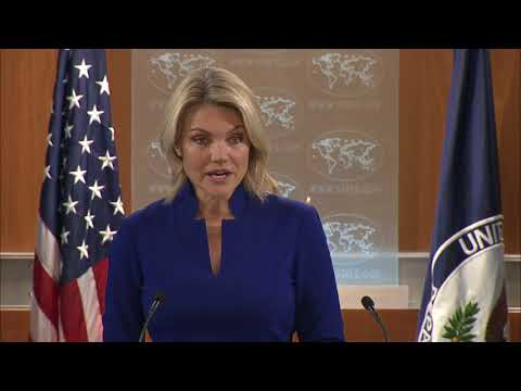 Department Press Briefing - October 24, 2017