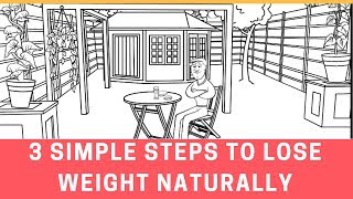 3 Simple Steps to Lose Weight Naturally (Backed by   Science)