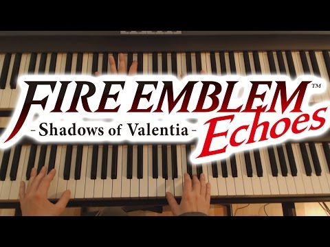 Fire Emblem Echoes Piano -  Final Map (for two Pianos)