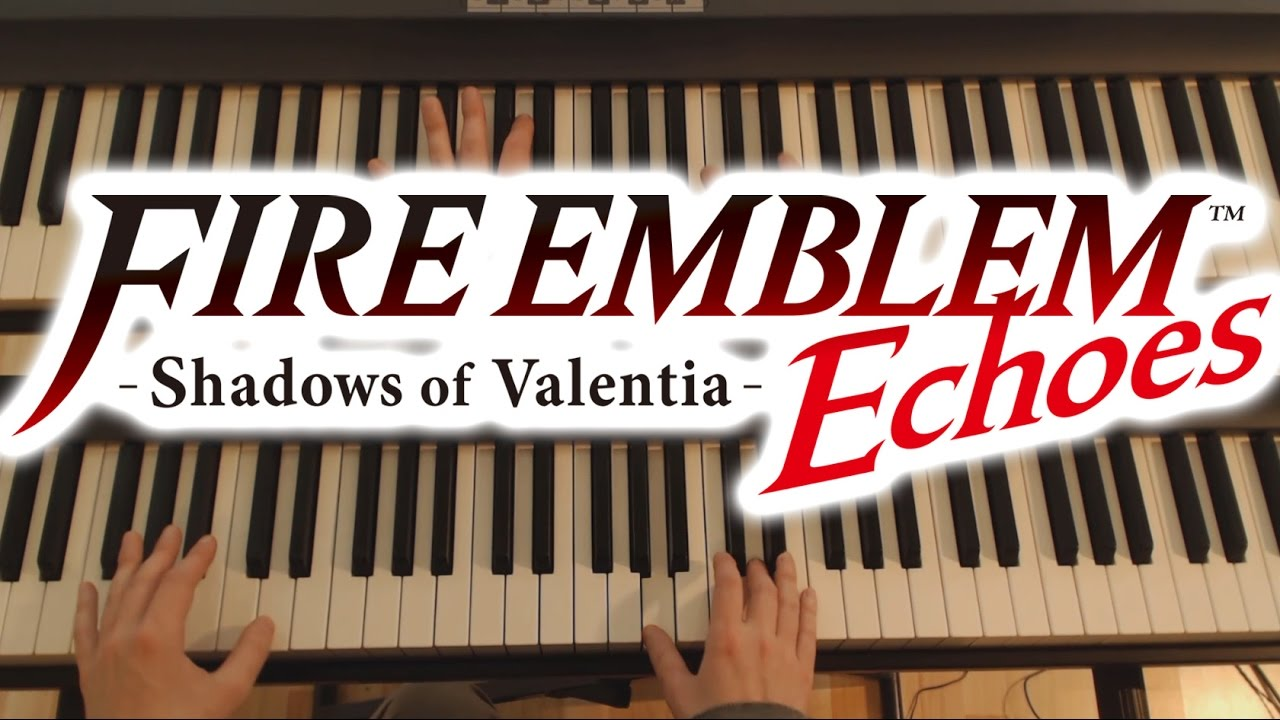 Fire Emblem Piano - Twilight of the gods | video game sheet