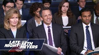 Late Night White House Press Briefing: Does the President Believe in Satan? thumbnail