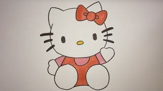 How To Draw Hello Kitty Step By Step Easy