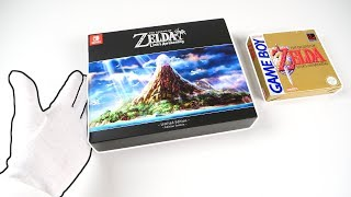 Zelda: Link's Awakening Limited Edition Unboxing (Nintendo Switch) + Bonus!