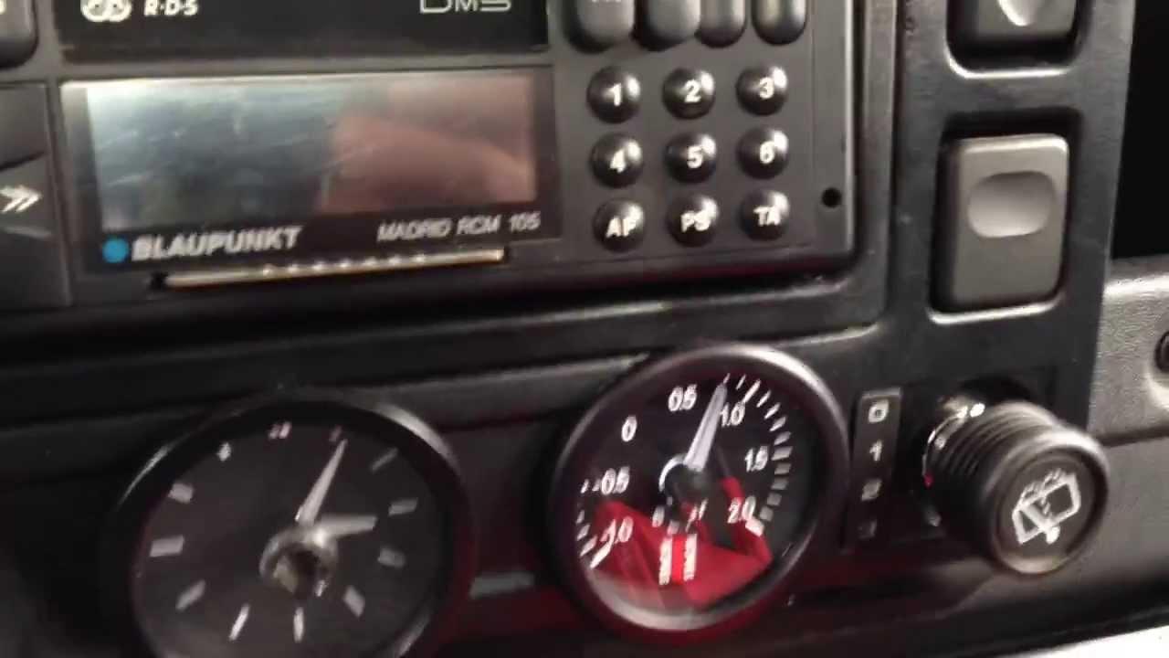 Land Rover Defender Dashboard >> EGT & Turbo boost Defender 300 Tdi Land Rover - YouTube